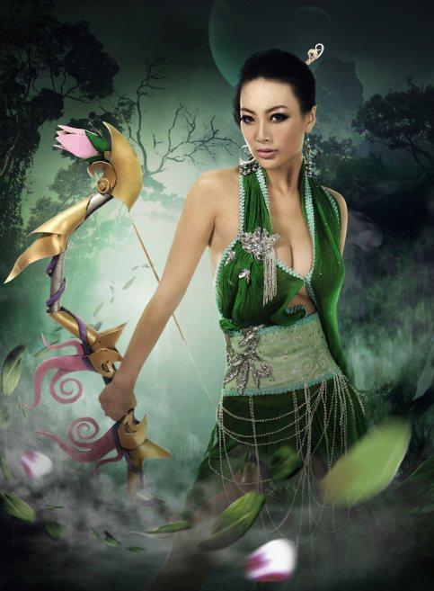 Danielle Wang 3d photo 12